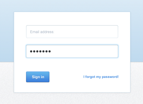 CakeHR - Sign in page v1. AB testing.