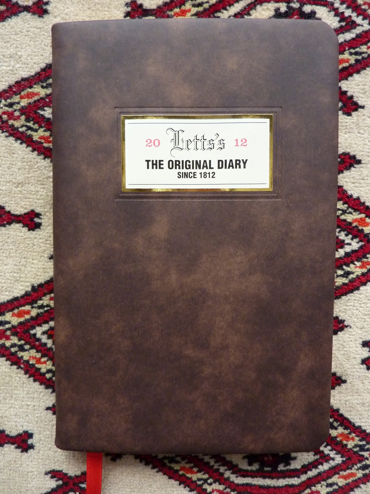 Letts Bicentenary Diary