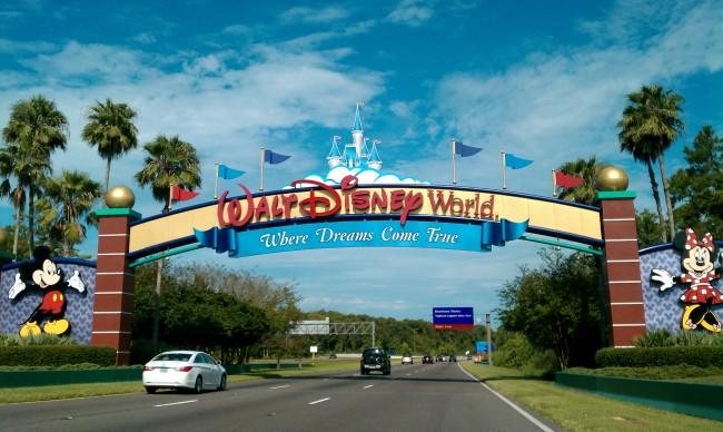 Walt Disney World Resort entrance.