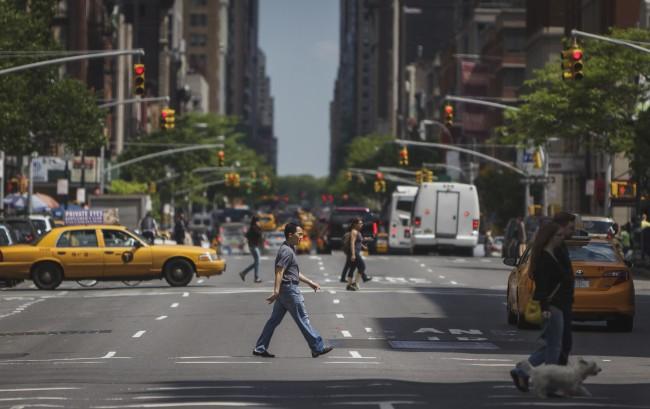That Crosswalk, Manhattan New York.