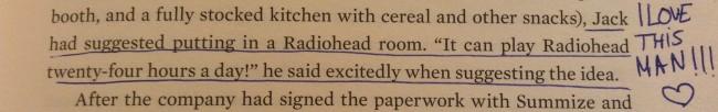 Radiohead twenty-four hours a day!