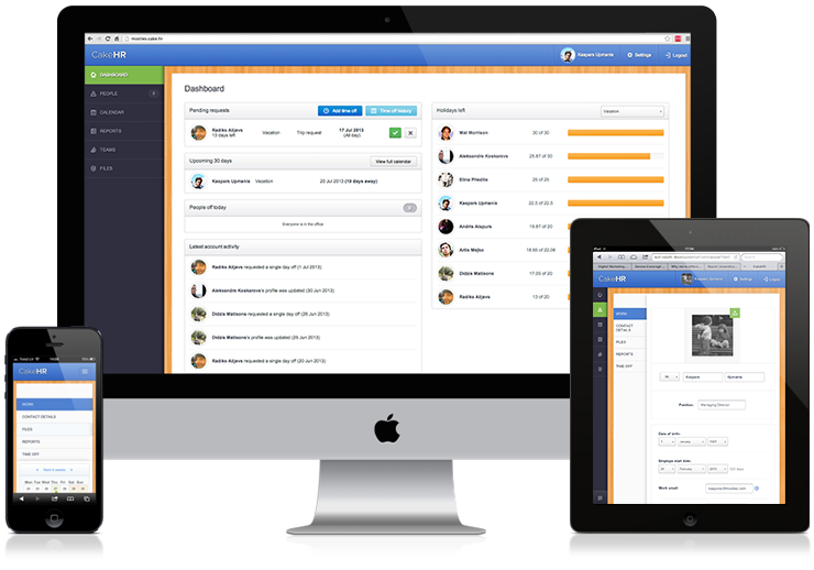 HR Software. Simplified. Attendance tracking