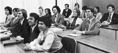 Programmer Training Class at Occidental Life