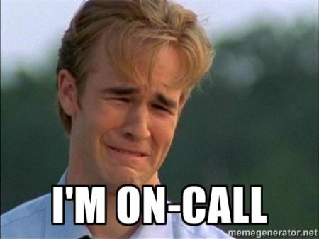 on call.