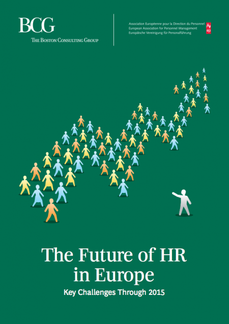 The Future of HR in Europe: Key Challenges Through 2015