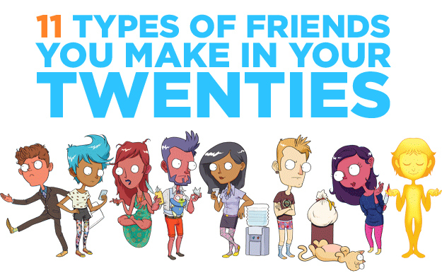different types of friends Those friends come in all kinds of different forms though there will be the friends  that you can trust and love like a sister and there will be friends that deceive.