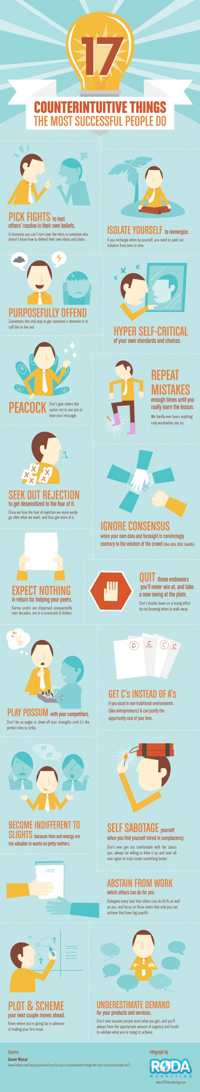 17 Tips Successful People Follow [Infographic]