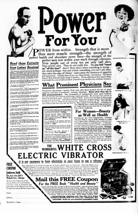 1913 advertisement - Adult Toys In The Office