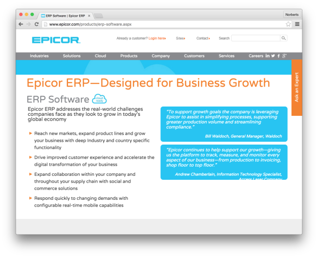 enterprise resource planning systems for smes Are inefficient processes halting business growth sage's enterprise resource planning (erp) software and systems can help you manage your business.