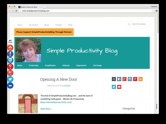Simple Productivity Blog