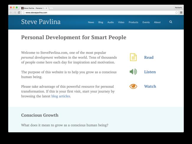 Steve Pavlina - Personal Development for Smart People