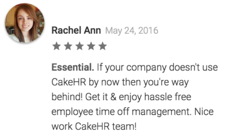 android review cakehr hr software