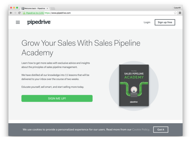 Best Business Apps in Growth Hacking pipedrive