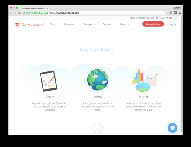 surveylegend google