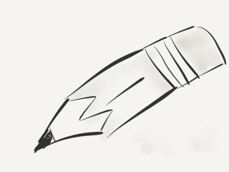 Pencil Drop game
