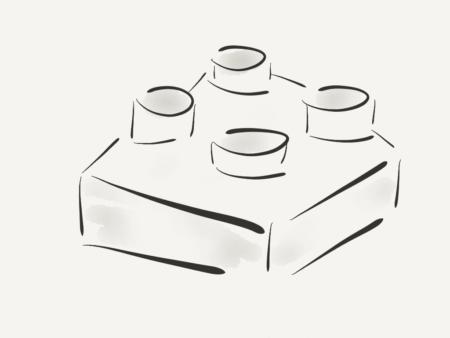 sneak a peak lego team building game