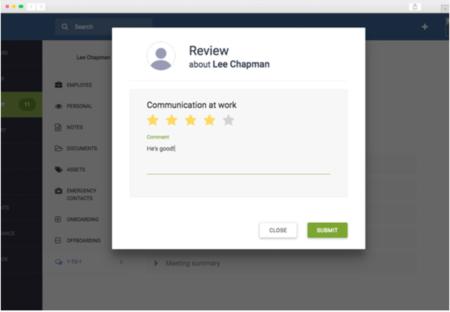 Run 360 degree feedback process