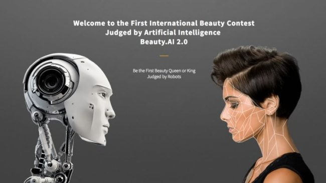international beauty pageant Beauty.AI held an online beauty contest and used a machine as the judge. The algorithm didn't favor women with dark skin.