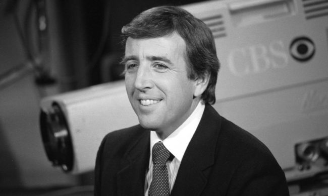 Brent Musburger broke into sports broadcasting at CBS in 1973.