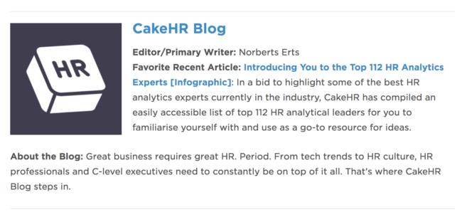 CakeHR Blog
