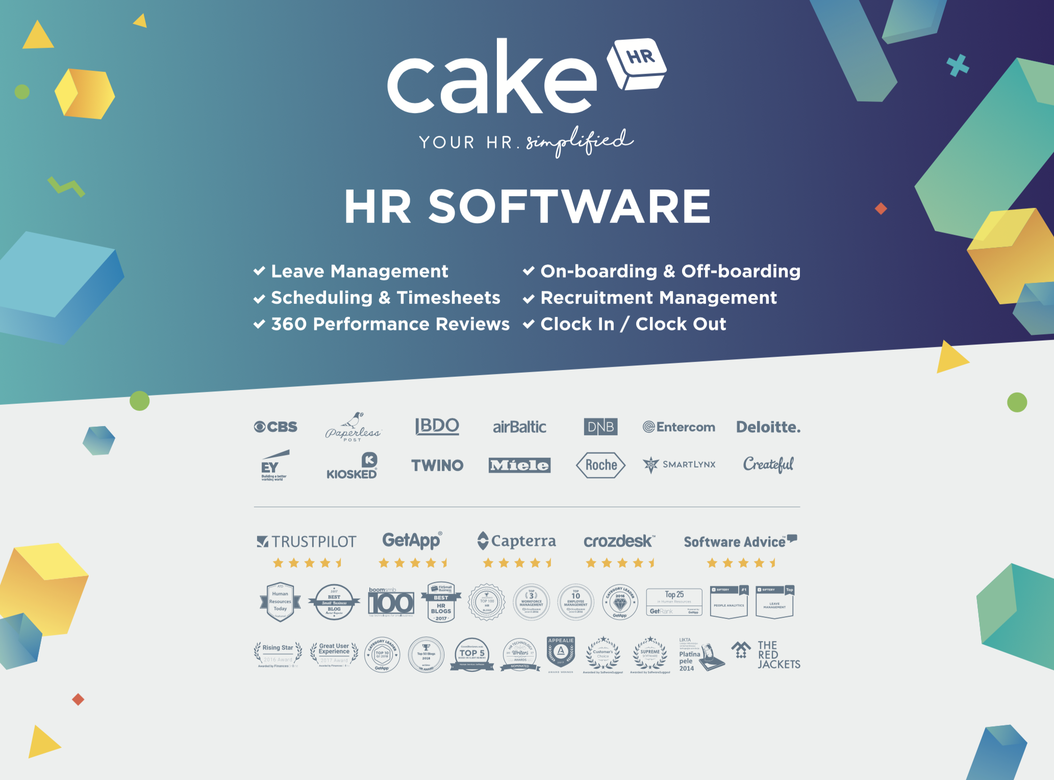 HR management software CakeHR