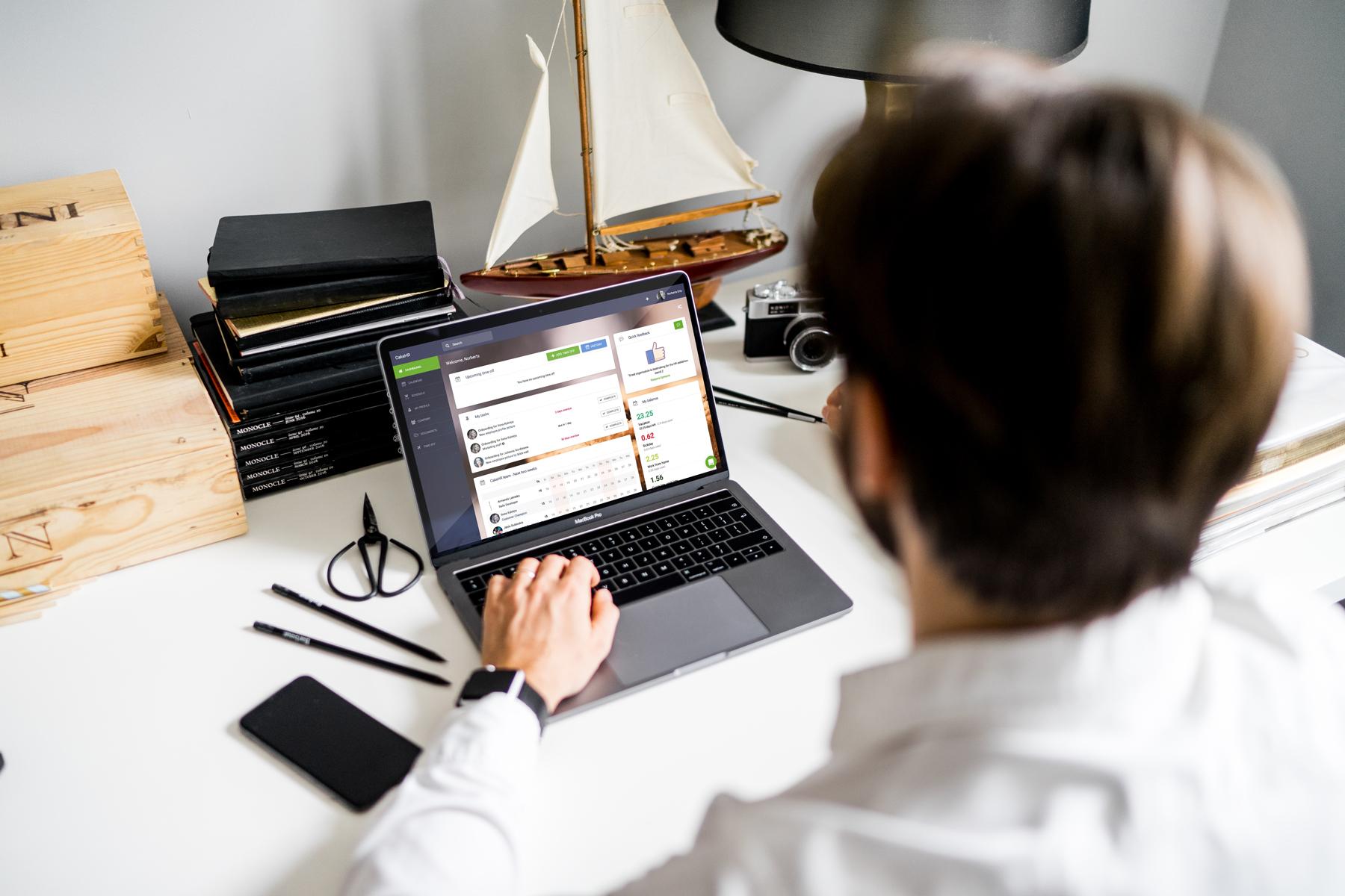 HR management software app system CakeHR human resources