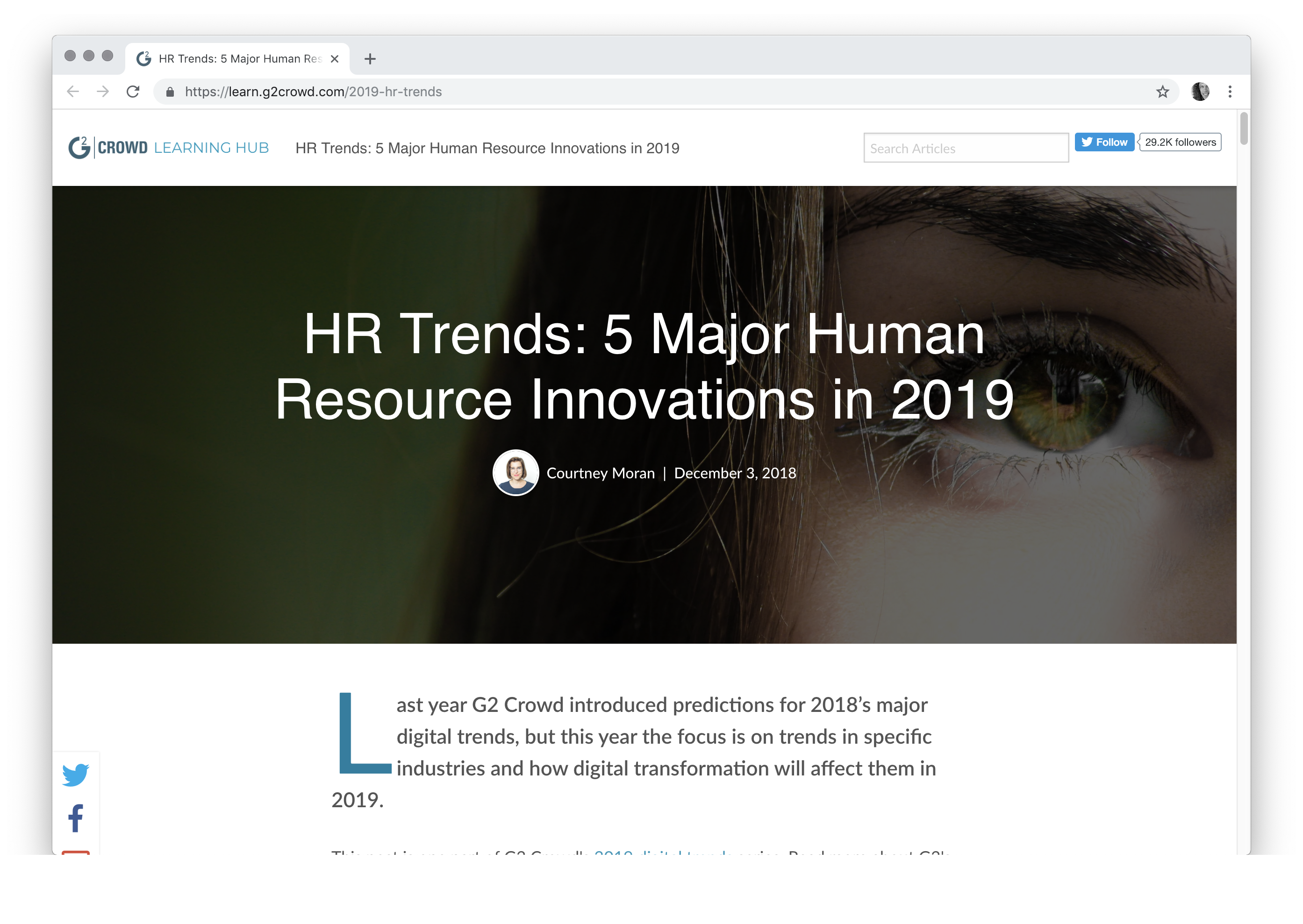 HR Trends: 5 Major Human Resource Innovations in 2019 cakehr