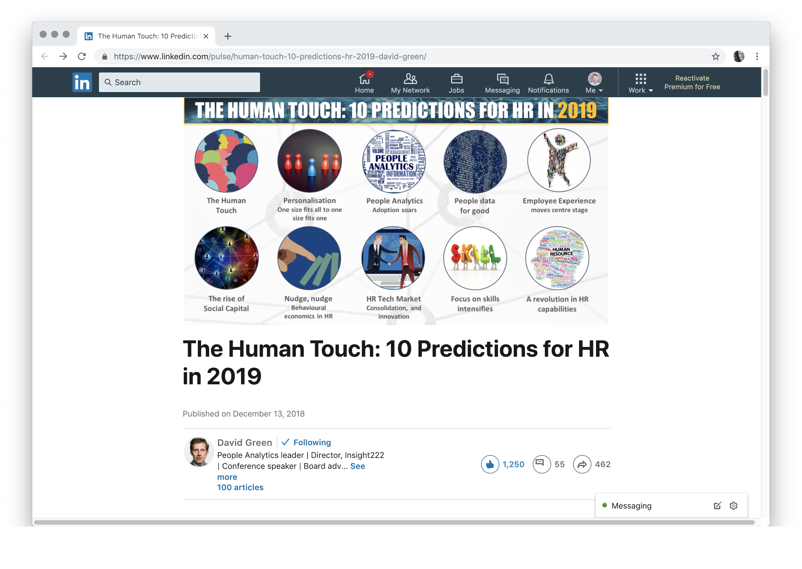 The Human Touch: 10 Predictions for HR in 2019 cakehr