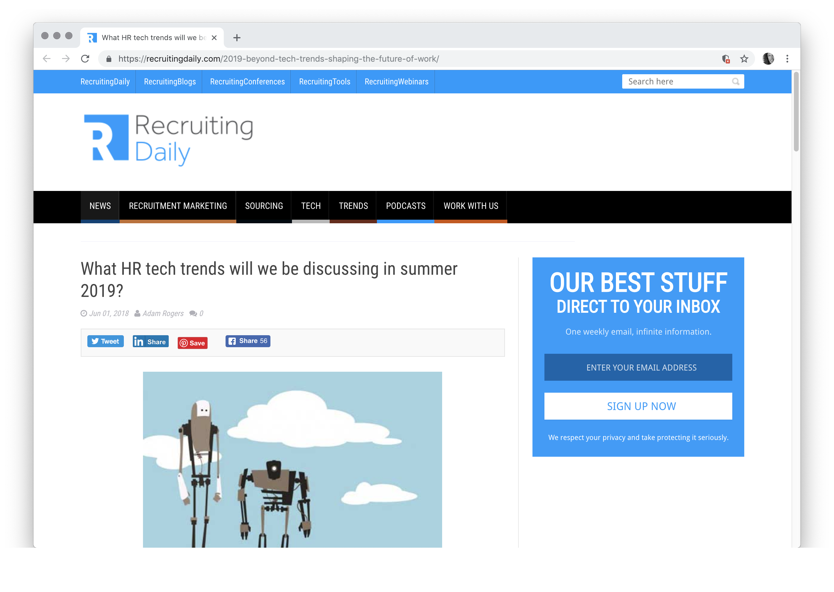 What HR tech trends will we be discussing in summer 2019? cakehr