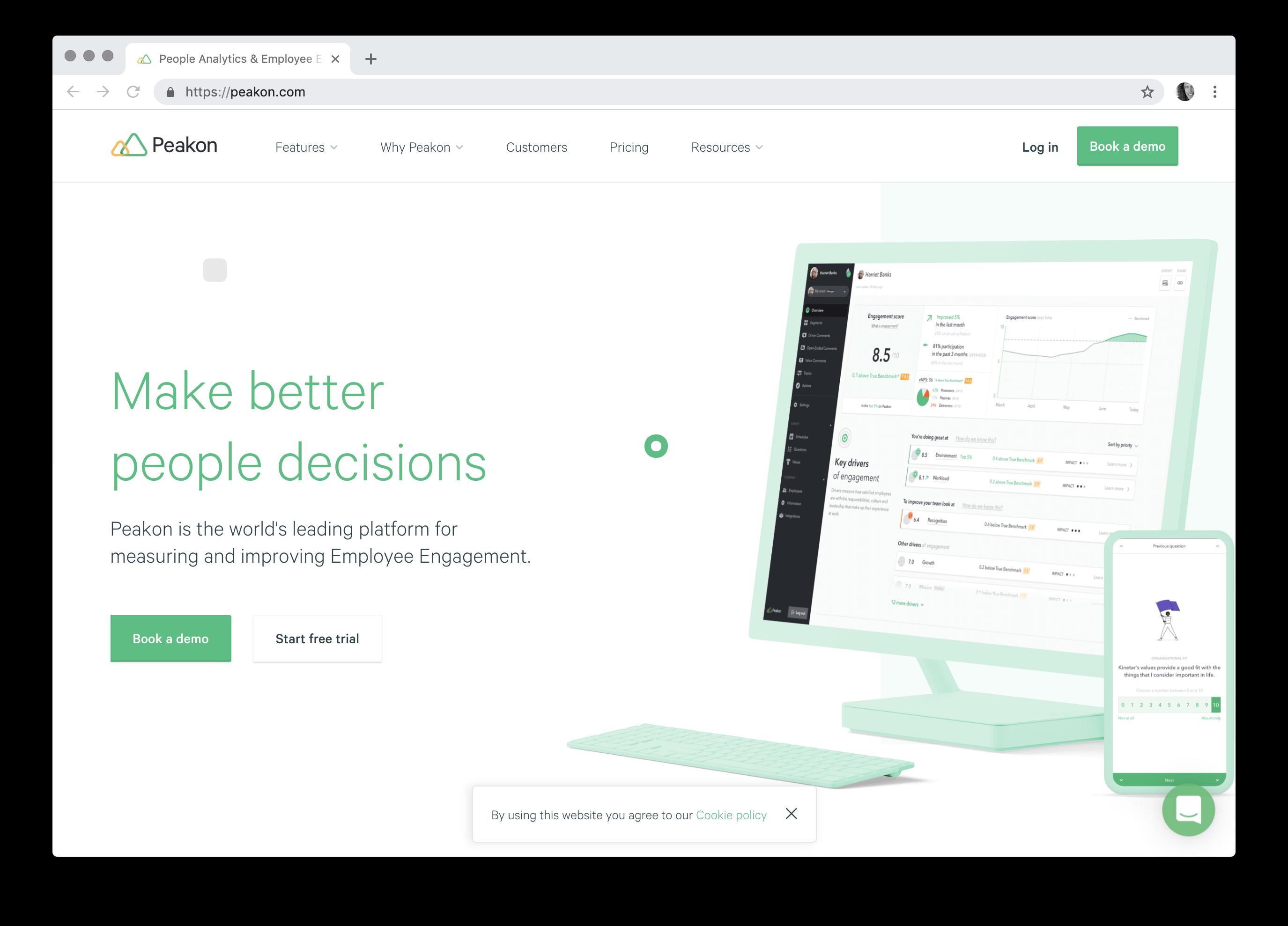 People Analytics & Employee Engagement Software - Peakon