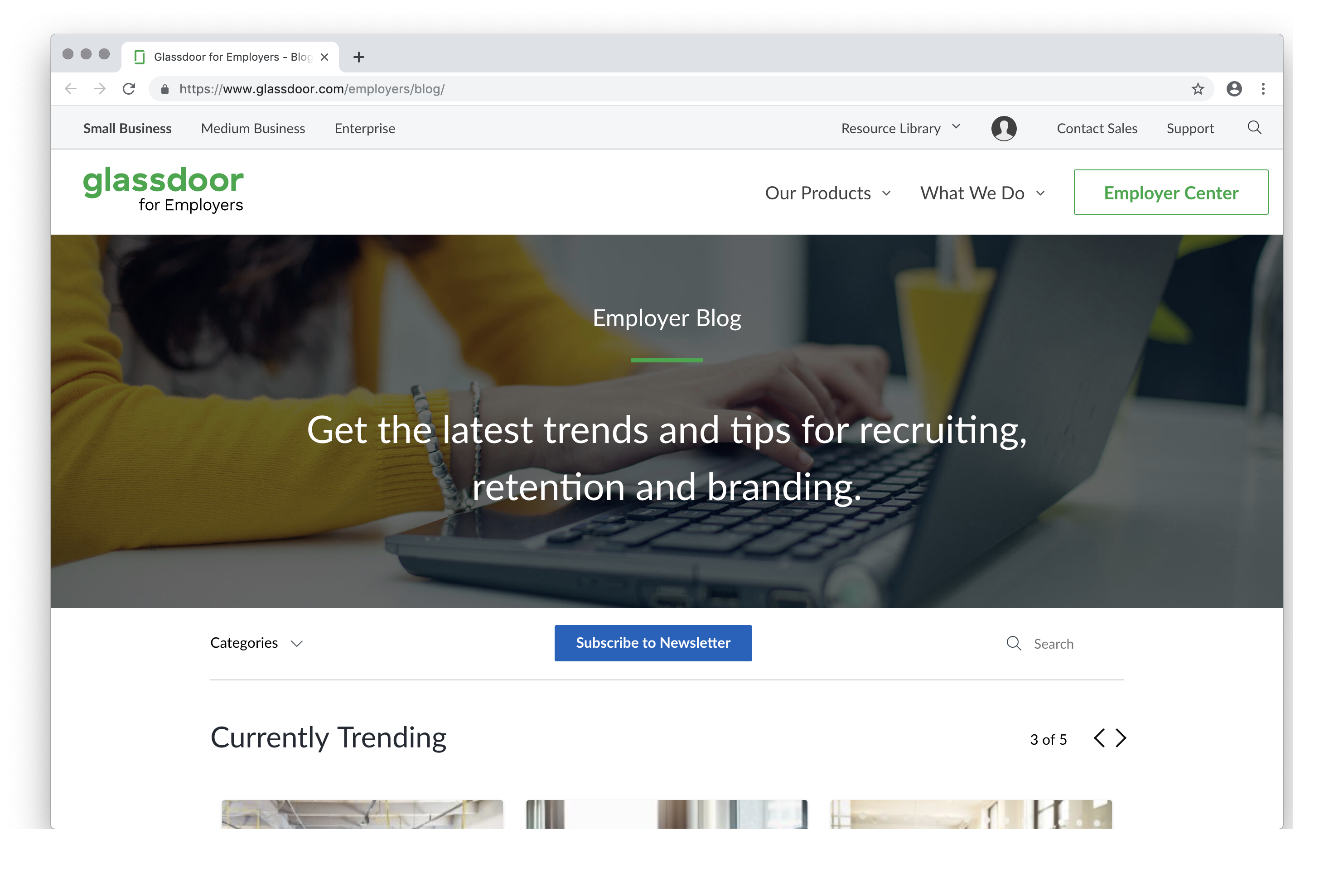 Glassdoor for Employers - Blog - Read posts about hiring and recruiting