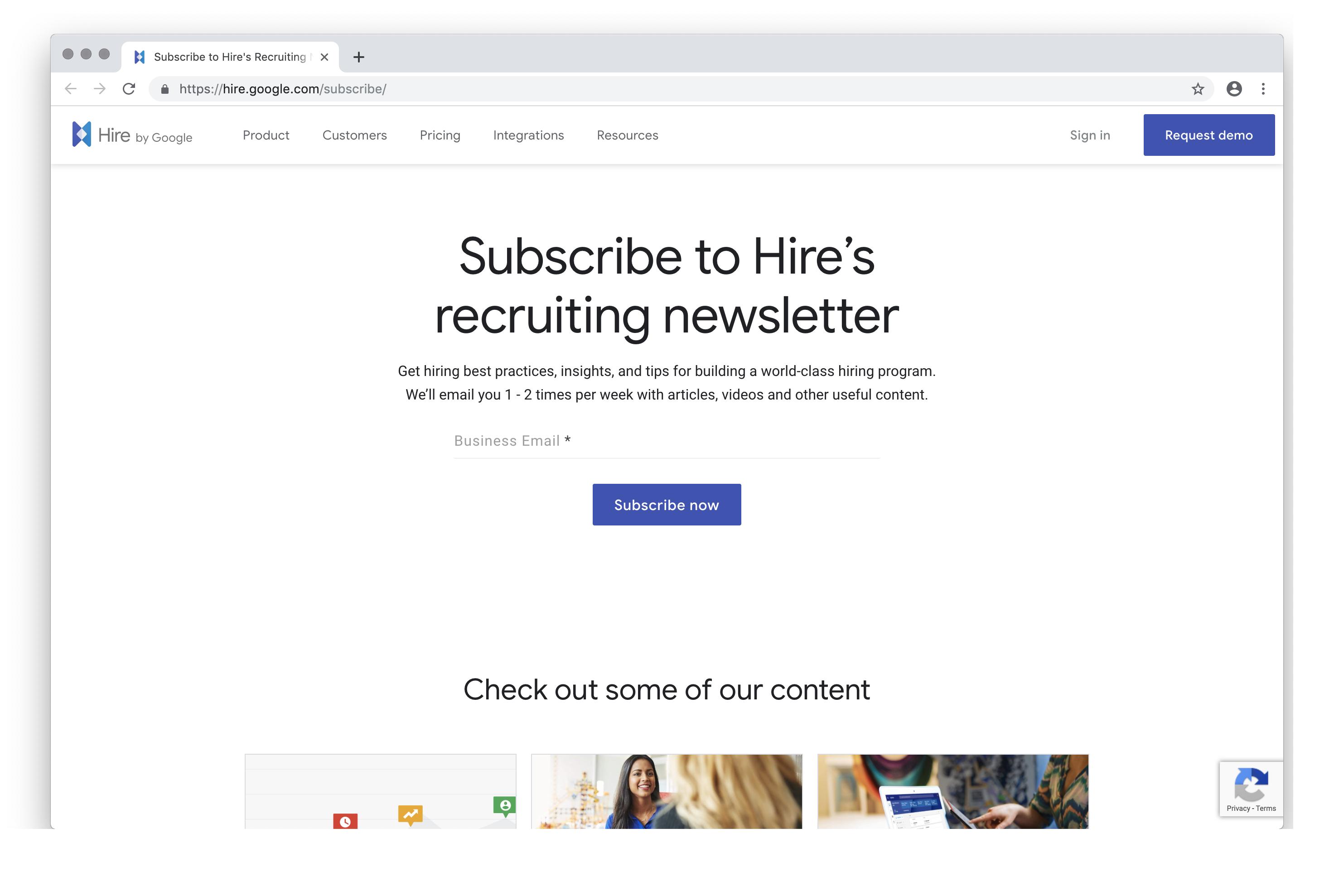 Hire's Recruiting Newsletter   Hire by Google