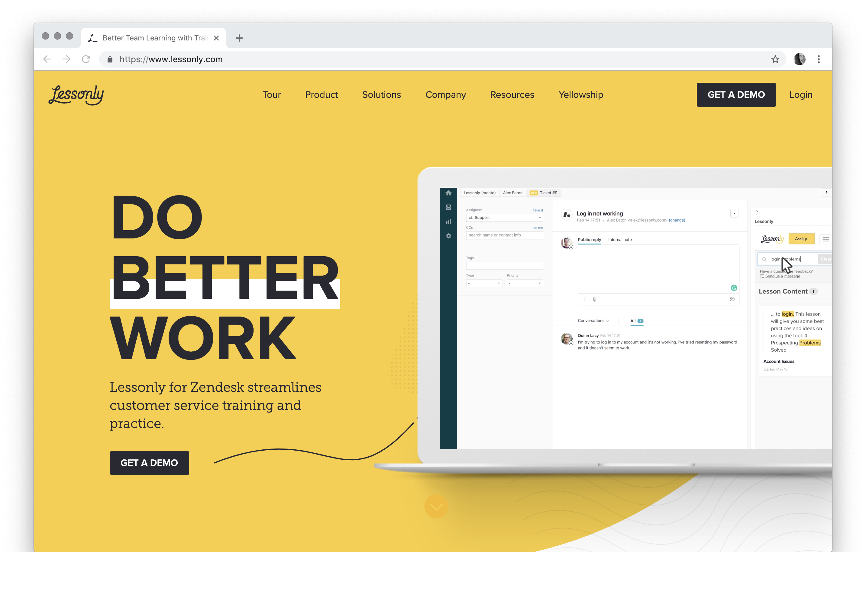 Better Team Learning with Training Software by Lessonly