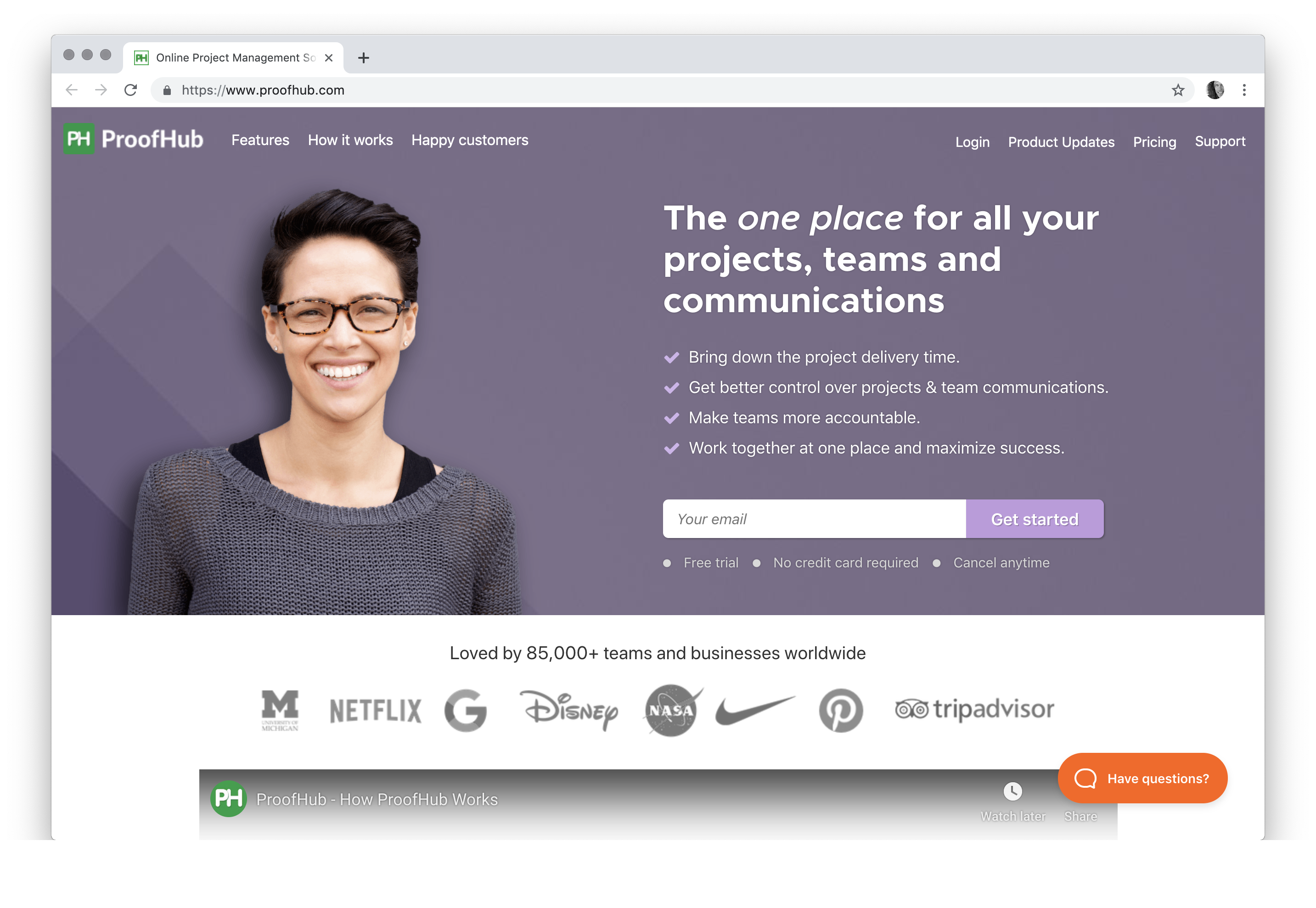 ProofHub - Online Project Management Software | Loved by 85,000+ Teams