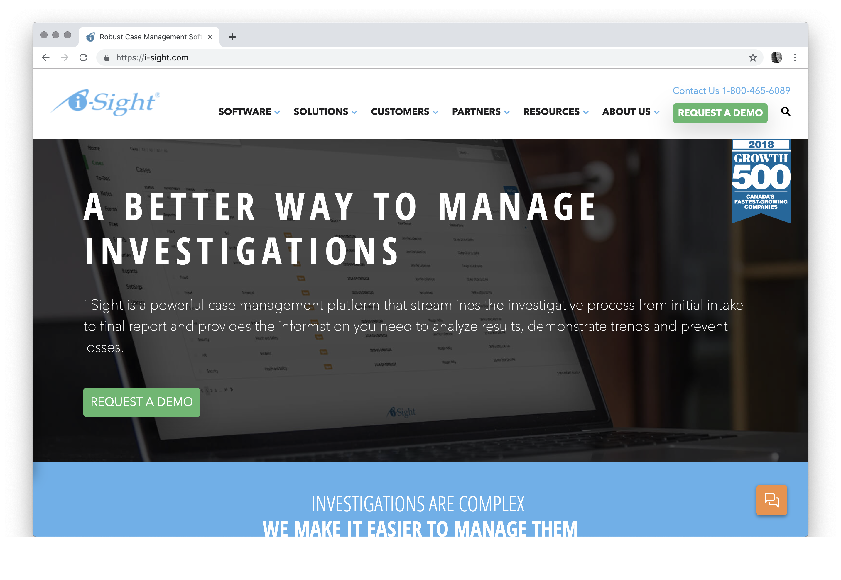 Robust Case Management Software & Multi-Industry Investigation Solutions | i-Sight