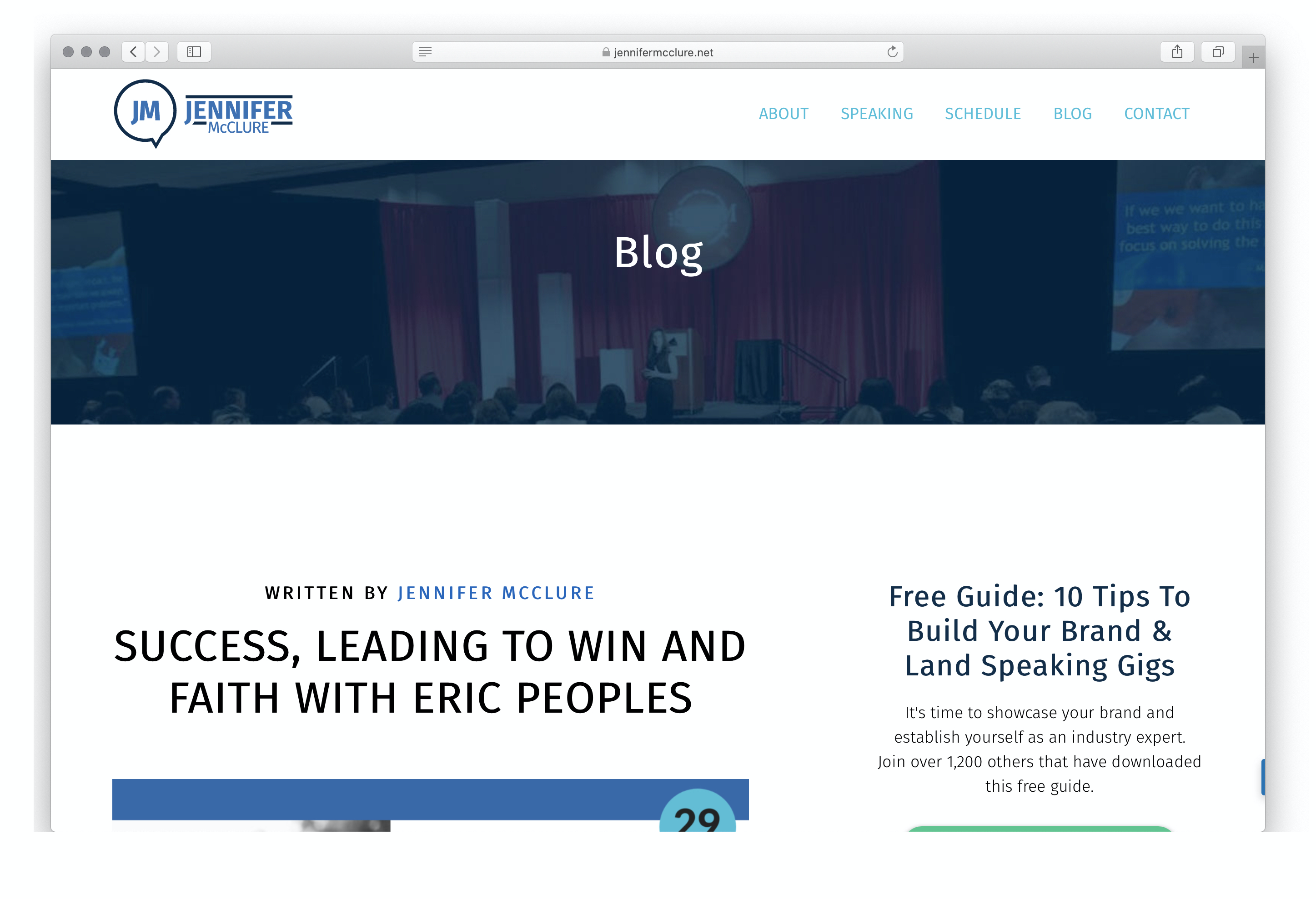 Best Blogs for Human Resource Management: Jennifer McClure