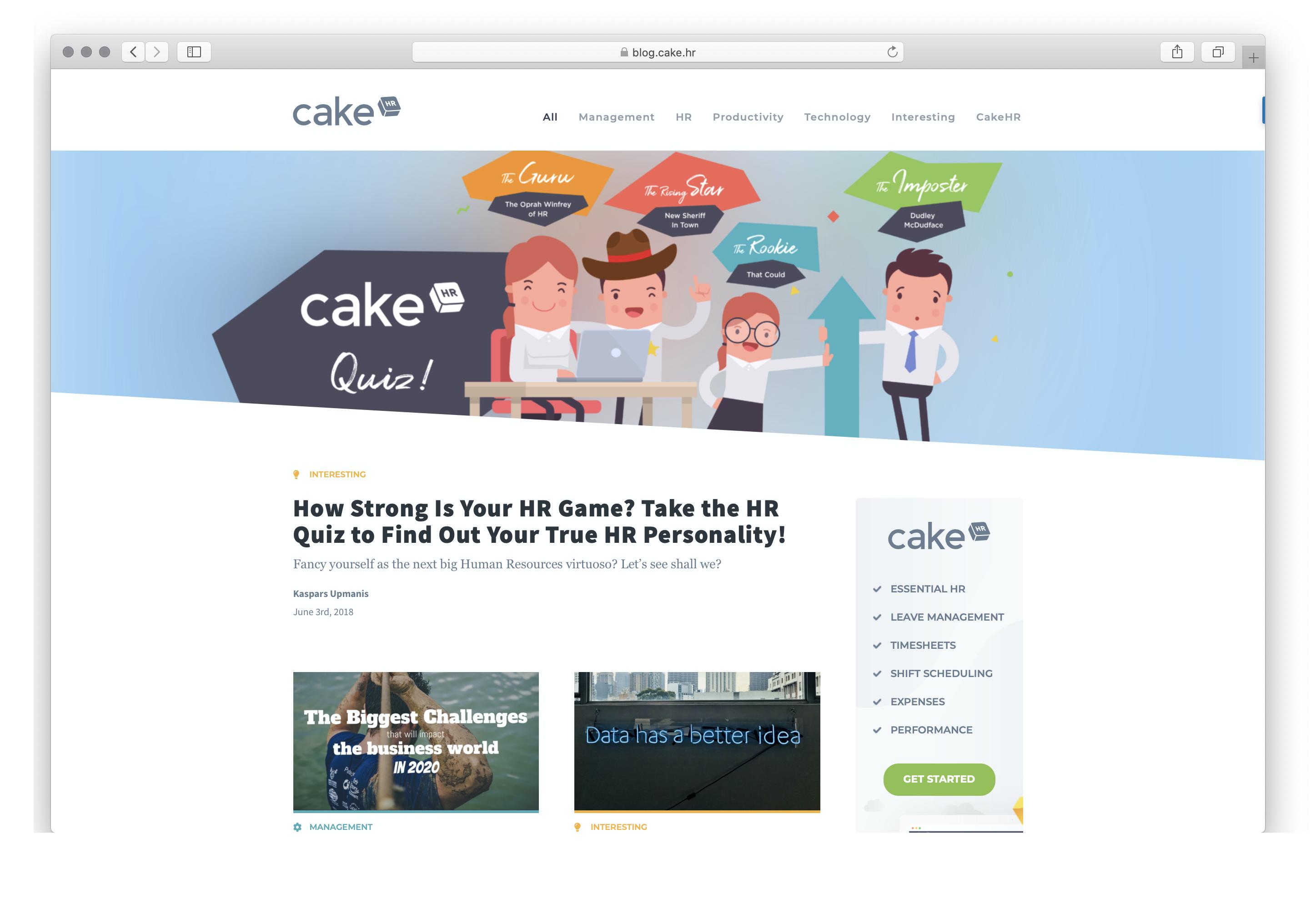 Best Blogs for Human Resource Management: CakeHR
