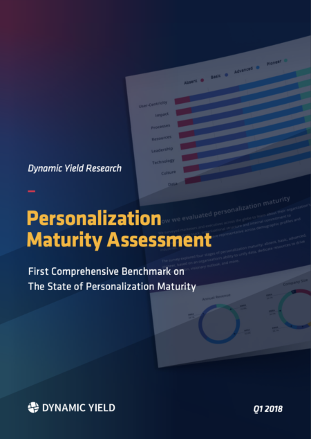 Personalization Assessment Maturity