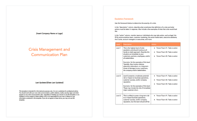 6 Crisis Communication Plan Examples & How to Write Your Own [Template]