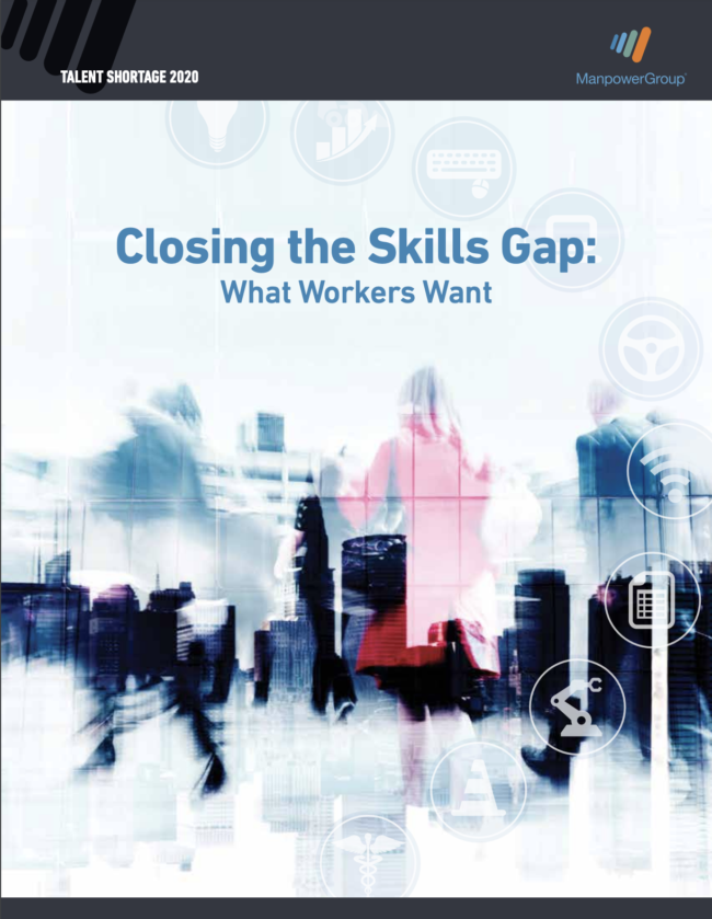 Closing the Skills Gap: What Workers Want | Source: ManpowerGroup